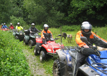 Tour en quad à travers la Suisse orientale
