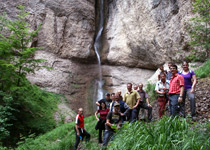Gorge exploration in the Berner Oberland