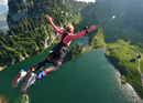 Bungy-Jump at Stockhorn