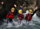 Canyoning dans l'Oberland bernois