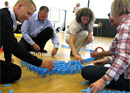 Domino workshop for team building or just for fun