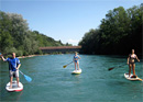 Stand up paddle sur l'Aare