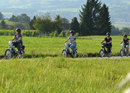 moped tour Emmental with barbecue on the farm